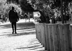 Urban figures (Rabican7) Tags: athens greece downtown urban monochrome blackandwhite dof depthoffield dutch figure people walking bigcity athina pedestrian human streetphotography streetphoto street
