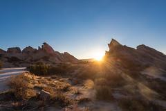 Sunrise at Vasquez Rocks (SCSQ4) Tags: aguadulce california donutstreetmeet favorite favoritepicture sunrise vasquezrocks landscape