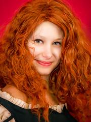 Portrait 153 (Michele & Miriam Photography) Tags: 2018 cosplay cosplayer sandonà fierafumetto red girl redhair