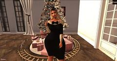 #Cranked# Claudia Dress (♥Miss Lady Fifooo♥) Tags: xmas dress fiesta soiree sexy classe second life sl secondlife maitreya catwa catya doux blonde blondie virtual mesh bento noel
