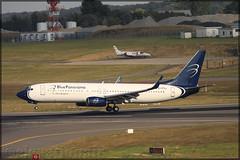 EI-FSJ Boeing 737-86N(W) Blue Panorama Airlines (elevationair ✈) Tags: bru ebbr zaventem airport brussels belgium zaventemairport europe avgeek aviation airplane plane aircraft sun sunny sunhine summer heatwave bluepanorama bluepanoramaairlines boeing 737 738 73786nw eifsj
