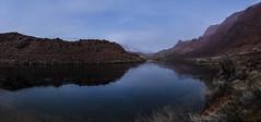 Reflecting on the Colorado (CraDorPhoto) Tags: canon5dsr landscape water river calm reflections mountains redrock outdoors nature usa arizona
