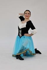Kneeling Pose (Read2me) Tags: cye costume pose skirt blue teen girl dancer dress thechallengefactorywinner tcfunanimousjanuary ge pregamewinner challengeclubwinner
