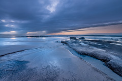 Tide Going Out (Keith - Glasgow) Tags: bamburgh beach england sunset waves clouds water sea sky seascapes landscapes coast northumbria shore unitedkingdom gb