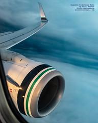 737-890(WL) Wing & Engine Between Two Cloud Levels (AvgeekJoe) Tags: iflyalaska 737 737800 737890 alaskaair alaskaairlines boeing737 boeing737800 boeing737890 d5300 dslr msn35195 n524as nikon nikond5300 aircraft airplane aviation jetliner plane