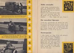 Wegenwacht-lid_oktober_1946 2 (Wouter Duijndam) Tags: oktober october 1946 anwb wegenwacht folder promotie kleuren jaren veertig 40 46 harleydavidson wla wlc hollandia zijspan beginjaren mooie
