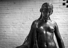 Chaste (dayman1776) Tags: brookgreen gardens south carolina myrtle beach black white bw nude sculpture escultura statue sculptor sculptures skulptur woman girl female figurative art museum wallpaper gorgeous breasts classical sony a6000 sigma lens america american amazing artist bronze metal