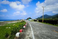 Le soleil était méchant (8pl) Tags: route ciel montagne mer océan île lanyu taïwan ensoleillé lignes chaleur promenade happyplanet asiafavorites