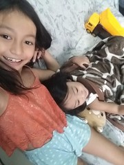 Herou and I (ghostgirl_Annver) Tags: asia asian girl boy annver teen child kid siblings brother sister family portrait happy