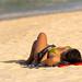 Pretty thai girl at Nai Harn beach, Phuket    XOKA9614s
