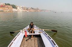 Banaras (attrayadas) Tags: boat ghat banaras varanasi ganga
