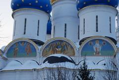 Закомары Успенского собора ТСЛ