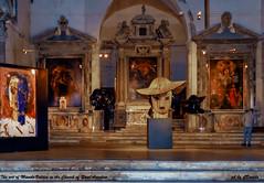 Valdes nella Chiesa di Sant'Agostino (danilocolombo69) Tags: istallazione sculture chiesa manolovaldes danilo colombo danilocolombo69 nikonclubit statue