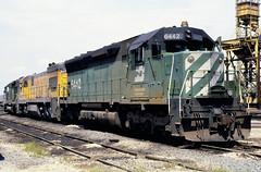 BN SD45 6442 (chuckzeiler50) Tags: bn sd45 6442 railroad emd locomotive clyde train chuckzeiler chz