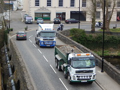 Randalstown FM Duo (Jonny1312) Tags: lorry truck tipper volvo volvofm volvofm12 portglenone ballymena randalstown rivermaine