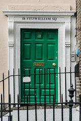 Doors of Dublin III (*Capture the Moment*) Tags: 2018 architektur city door doors dublin holiday ireland irland june sonya6300 sonye18200mmoss sonyilce6300 stadt trip tür türen