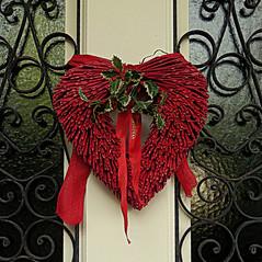 Feliz Navidad - Merry Christmas - Frohe Weihnachten -Joyeux Noël (nuska2008) Tags: nuska2008 nanebotas navidad gijón somió asturias españa olympussz30mr adornosnavideños corazón puerta rejas nöel christmas natale