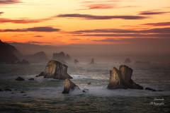 Costa del Cantábrico (LANTADA Fotografia) Tags: asturias mar cantabrico atardecer españa acantilado puesta de sol naranja