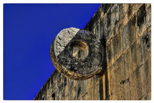 Chichén Itzá MEX - Mesoamerican ballcourt