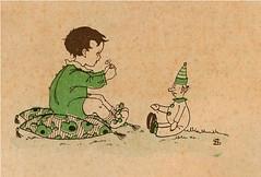 sijtje  Aafjes  Nieuwe oogst voor de kleintjes 1925, ill titlepg (janwillemsen) Tags: sijtjaafjes bookillustration 1925 schoolbook childrensbook