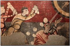 La lapidació de Sant Esteve (Sant Joan de Boí), MNAC, Sants-Montjuïc (Barcelona, el Barcelonès) (Jesús Cano Sánchez) Tags: elsenyordelsbertins fujifilm xq1 enunlugardeflickr catalunya cataluña catalonia barcelones barcelona santsmontjuic mnac romanic romanico romanesque catalunyaromanica catalunyamedieval middleages