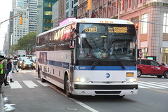 IMG_2685 (GojiMet86) Tags: mta nyc new york city bus buses 2015 x345 2500 sim8 42nd street 7th avenue