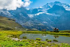 Kleine Scheidegg (olle.graf) Tags: 2018 olle berneroberland d3300 nikon schweiz september wengen switzerland eis ice jungfrau jungfraujoch mönch schnee snow lauterbrunnen bern
