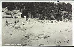 Postkort fra Agder (Avtrykket) Tags: strand postkort strandhus strandliv grimstad austagder norway nor