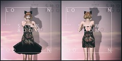 New dress for V-tech <3 (Kush Klokanica) Tags: twosided antievent zensoul dress mesh fashion apparel frexi simple elegant coctail femboy femboi foxcity backdrop avatar portrait secondlife sl blog