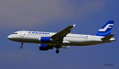 Airbus A320 ~ OH-LXF  Finnair (Aero.passion DBC-1) Tags: spotting cdg 2009 airbus a320 ~ ohlxf finnair
