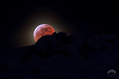 Rising Eclipse (Tristan Rayner) Tags: squamish eclipse composite digital artwork art full moon lunar wolf blood space astrophotography stars night sky impossible