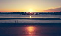 (Xavier Larrosa) Tags: barcelona amanecer sunrise sunset atardecer sun sol beach playa forum poblenou besos diagonalmar sky city sea mar