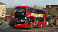 Barnet Goes MCV (londonbusexplorer) Tags: metroline travel volvo b5lh mcv evoseti vmh2438 lk18afo 107 new barnet edgware tfl london buses