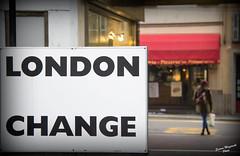 london change-001 (Nemo Sischi) Tags: london change cambiamento aspettareilcambiamento model woman shoop lights luci street road strada stradadelcambiamento cambiare italy wait