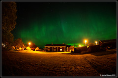 Northern Lights in October (mmoborg) Tags: mmoborg northern lights northernlights night sky sweden