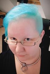 2018-10 (1) (very_short_hair) Tags: bluehair babyblue