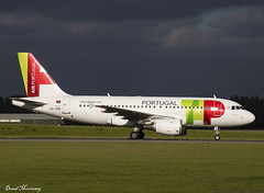 TAP Air Portugal A319-100 CS-TTA (birrlad) Tags: amsterdam ams international airport netherlands aircraft aviation airplane airplanes airline airliner airlines airways arrival arriving landed runway taxi taxiway stand gate terminal tap air portugal cstta airbus a319 a319100 a319111