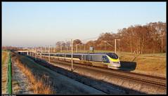 Eurostar 3229/3230 @ Enghien (Steven De Haeck) Tags: enghien edingen hove hainaut henegouwen belgië belgique lijn1 eurostar london brussel bruxelles lgv hsl hst e300 tmst transmanchesupertrain class373