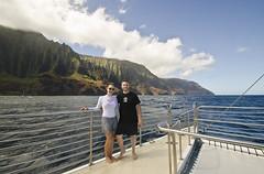 The Cliffs of Na Pali (EnviroTrekker) Tags: kauai napalicoast summer pacificocean catamaran august snorkel cruise cliffs kalalau