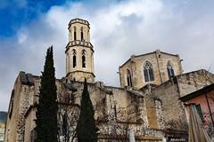 Església de Sant Pere - Figueres (rossendgricasas) Tags: figueres altempordà church clouds blue architecture girona cat catalonia photography photo photoshop nikon light
