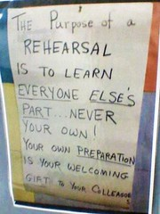 Music Room poster (fairyduff) Tags: teacher advice musician rehearsal student education band orchestra practice preparation wisdom experience mindset sign choir ensemble learning classroom inspiration instruction encouragement music teamwork