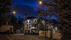 The Spaniards Inn (PhredKH) Tags: architecture canonphotography fredkh hampstead historical london londonpubproject londonpubs londonstreets londonbynight nightphotography nightscene northlondon photosbyphredkh phredkh spaniards splendid streetlights stret thespaniardsinn trees nightsky road sky 50mm ef50mmf18stm canoneos5dmarkiii