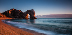 Durdle Door (selvagedavid38) Tags: dorset ocean waves tide sunset sky durdledoor jurassiccoast purbeck rocks arch