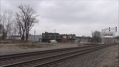 Norfolk Southern freight train (17 November 2018) (Marion, Ohio, USA) 3 (James St. John) Tags: marion ohio freight train trains ns norfolk southern