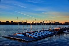 Charles River Yacht Club (RayTheriault) Tags: sun water boston boats blue nikon nikond810 d810 24120