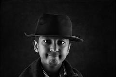 Head shot - portrait (Ram Iyer Photography) Tags: portrait portraiture nikon d750 delhi boy youngmodel childmodel boymodel film elinchrom frx400 85mm studio lighting strobist lights sikonic ramiyerphotography nikonindia godox background texture