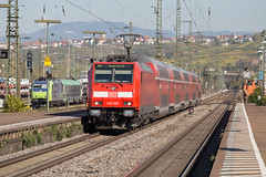 DB Regio 146 206 Weil am Rhein (daveymills37886) Tags: db regio 146 206 am rhein baureihe bombardier traxx weil