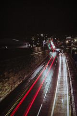 light trails (Pawel Skokowski) Tags: skipton long longexposure lighttrails nighttime nightphoto night road yorkshire