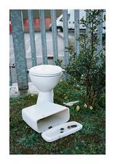 FILM - Outside lavatory (fishyfish_arcade) Tags: analogphotography f70 filmphotography filmisnotdead istillshootfilm nikkor50mmf18afd nikon portra160 analogcamera film