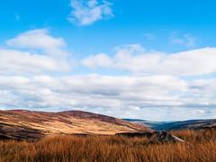 Blue Sky (kckelleher11) Tags: 1260mm 2012 e300 olympus blue clouds rock sky wicklow zuiko